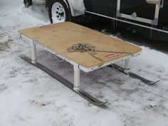 Does anyone make and sell Smitty sleds ? Ice Fishing Sled, Ice Fishing Gear, Fishing Boats, Fishing Stuff, Snow Sled, Kayak Rentals, Whitewater Kayaking, Small Boats, Water Sports