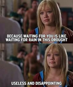 Rain in this drought