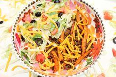 Sweet Potato Taco Bowls via @sheenatatum