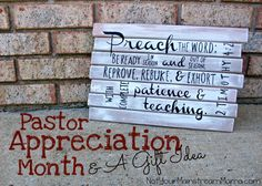 Did you know that October is Pastor Appreciation Month? October 13 was also Pastor Appreciation Day. Have you done anything special for your pastor to show your appreciation? Gifts For Pastors, Pastors Wife, Pastor Appreciation Gifts, Pastor Anniversary, 30th Anniversary, Kids Church, Church Ideas, Church Office, Church Events