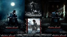 2012 Summer Movie Collage (Abraham Lincoln: Vampire Hunter, Snow White and the Huntsman, The Dark Knight Rises)