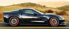Corvette ZR1.  Raw power