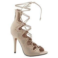 2dcb88e04d1 Women s Z London Ghillie Gladiators - Assorted Colors   Target Nude Strappy  Heels