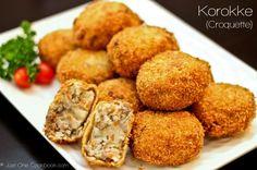 [JAPAN] Japanese Potato & Meat Croquette {Korokke) | Easy Japanese Recipes at JustOneCookbook.com