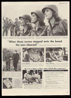 world war ii history magazine History Of Nursing, Medical History, Military Women, Military History, Ww2 Women, Air Force Nurse, Flight Nurse, History Magazine, Magazine Ads