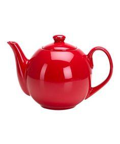 Look at this #zulilyfind! Red 40-Oz. Infuser Teapot #zulilyfinds