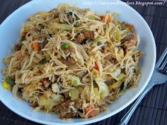 Curry and Comfort: Stir Fried Rice Stick Noodles