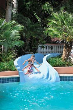 Water Slide.  Looks like a nice place.