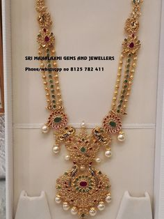 3 Brands That Sells Best Gold Long Necklace Designs! Gold Jewelry Simple, Gold Wedding Jewelry, Bridal Jewelry, Gold Chain Design, Gold Jewellery Design, Handmade Jewellery, Gold Earrings Designs, Necklace Designs, Gold Designs