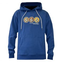 VOLCOM Youth Lined Up Pullover sweat à capuche vintage navy enfants 55,00 €…