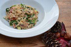 Risotto spekjes en spinazie - Taste our Joy!