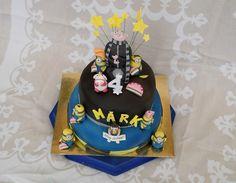 Despicable me cake - Gru, minion, Agnes https://www.facebook.com/marcipandiszek/photos/a.400290863391453.101186.327363434017530/819299548157247/?type=1&theater