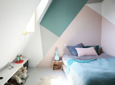 """""""This place is an ode to color, filled with vintage hues that make us want to travel! It has such a strong inspiration. It's a family apartment, but everybody seems to have their own place within it."""""""