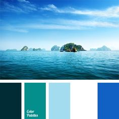 Combination of cold blue-cyan tints is classically updated with white. This scheme can be used for decoration of an office-studio or open porch of a country house in nautical style. This scheme will help you to choose color combinations of celadon for decoration of a family holiday, as well as for costumes for children's party or a school play.