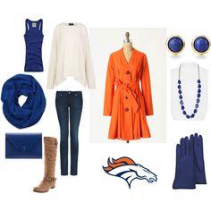 Denver Broncos game day love!