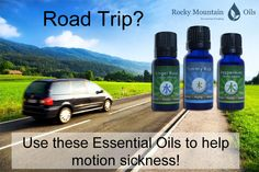 Going on a road trip? Worried about sick tummies? Ginger Root, Peppermint, and Tummy Rub can help soothe stomachs.