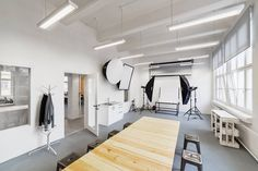 Bubble, an innovative digital agency based in Prague, Czech Republic, recently expanded its office space in Prague 7 district. Some of the amenities include a meeting room made from a cedar tree, custom-made furniture, and a production/recording room. Location: Prague 7 – Czech Republic Date completed: 2016 Design: Coll Coll and Bubble Illustrations: Vera Matys … Continue reading A Tour of Bubble's New Super Cool Office →