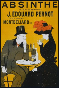 Absinthe, Pernot - Vintag - Canvas Wall Art | Vintage Apple Collection