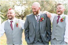 Groom and groomsmen in grey suits laughing candidly and walking Groom Attire, Groom And Groomsmen, Summer Wedding, Wedding Day, Utah Wedding Photographers, Groom Style, Grey Suits, Wedding Groom, Wedding Portraits