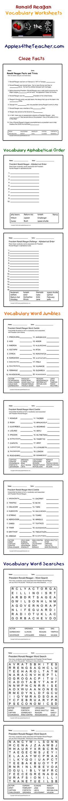 Zachary Taylor interactive vocabulary words cloze