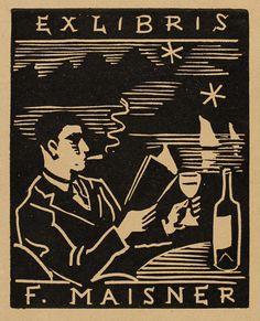 Alois Moravec, 1933, Art-exlibris.net