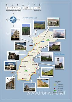 Batan Island Map.  My family and I have visited several times.
