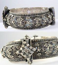 Middle East | Vintage sterling silver bracelet | 350$