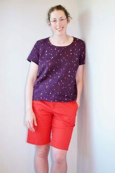 Butterick B6100 Shirt in Lightweight Woven Fabrics