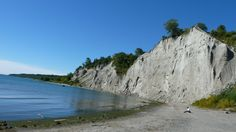 A day out in Scarborough Bluffs also known as The Bluffs is an escarpment in Scarborough, Toronto, Ontario, Canada. Scarborough Bluffs, Scarborough Ontario, Day Trips, Mount Rushmore, Toronto, Places To Go, The Neighbourhood, Canada, Park