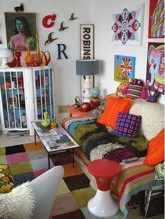 Decoholic » 50 Dream Interior Design Ideas for Colorful Living Rooms