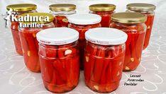 Yağlı Kırmızı Biber Konservesi Tarifi en nefis nasıl yapılır? Kendi yaptığımız Yağlı Kırmızı Biber Konservesi Tarifi'nin malzemeleri, kolay resimli anlatımı ve detaylı yapılışını bu yazımızda okuyabilirsiniz. Aşçımız: Lezzet Pınarından Damlalar Hot Sauce Bottles, Pickles, Pantry, Salsa, Mason Jars, Mugs, Tableware, Food, Tiramisu
