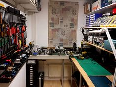 Whats your Work-Bench/lab look like? Post some pictures of your Lab. - Page 41