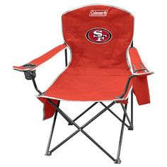Jarden Consumer Solutions Rawlings NFL Tailgate Folding Chair NFL Team: San Francisco 49ers
