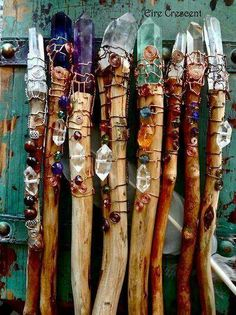 Beautiful wands by Eire Crescent!                              …