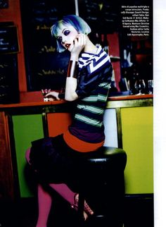 Vogue Italia Beauty Editorial From A to Z Vitamins!, Spring 2011 Shot