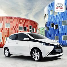 No matter the destination, the slick, fun and affordable Aygo will get you there in style