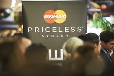 Mastercard's Priceless Sydney at Evening With Our Designers 2013 at Strand Arcade, featuring the launch of the 1891 publication, the We Are The Makers series, and our SS13 campaign. #ss13 #EWOD #strandarcade #mastercard
