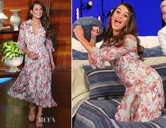 Lea Michele In Saloni – 'The Ellen Degeneres Show'