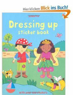 Dressing Up Sticker Book (Usborne Sticker Books): Amazon.de: Felicity Brooks, Kay Widdowson: Englische Bücher