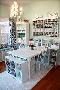 Ummm hello dream craft room :)