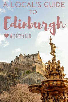 A local guide to Edinburgh