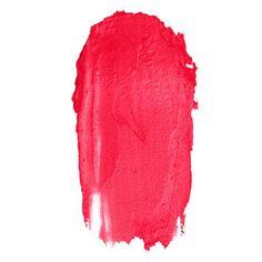 Charlotte Tilbury Hot Lips Electric Poppy product smear.