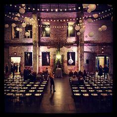 We had so much decor with #spruce #garland in the space this winter! The two #beautiful 20' strands behind one of #Apre's #chandeliers framed the #ceremony location perfectly. #ceremonyseating #Ceremony #marriage #weddingceremony #weddingvenue #wedding #ceremonydecor #mpls #mn #minneapolis #minnesota #warehousedistrict #winterevent #winterwedding