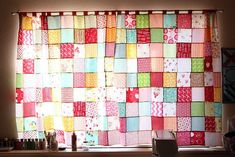 """grumpystitches: """"new curtains for my sewing room by randi @ i have to say… on Flickr. """""""