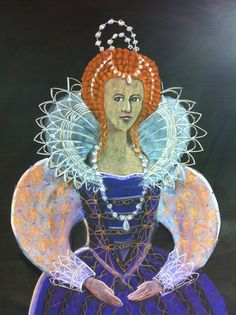 How to create an Elizabethan Chalk Drawing by Rick Tan of Syrendell for the BEarth Institute.