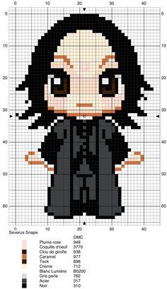 Severus Snape - Harry Potter pattern