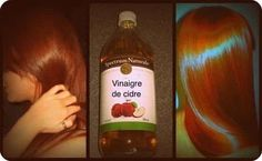 Unfiltered apple cider vinegar works great for your hair and scalp. It cleanses your hair, giving it more body and luster, and it also prevents hair-loss. Apple cider vinegar relieves itchy scalp and eliminates dandruff Apple Cider Vinegar For Hair, Vinegar Hair, Get Thicker Hair, Hair Rinse, Prevent Hair Loss, Fall Hair, Healthy Hair, Healthy Life, Healthy Food