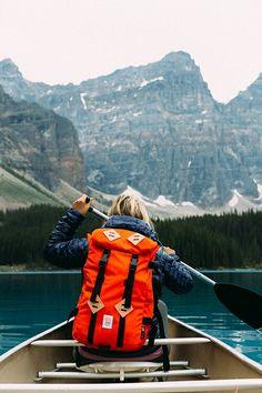 Kayaking exploring