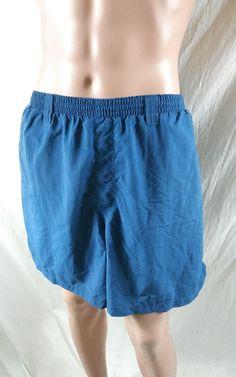 6b3bdf6dba Columbia PFG Size XXL Omnishade Swim Shorts Lined Trunks Dark Blue Swimming  #Columbia #Trunks