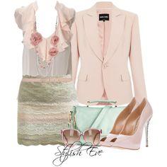 Pastel Lace Skirt :)